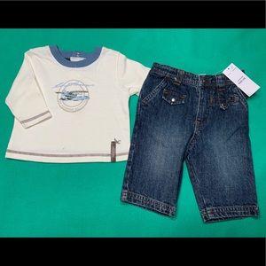 🆕 Baby Boy Eddie Bauer Outfit